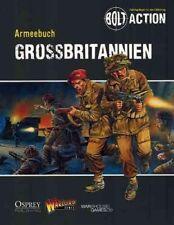 ARMEEBUCH GROSSBRITANNIEN - BOLT ACTION - WARLORD GAMES - GERMAN TEXT