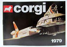 1979 CORGI Diecast TOYS CATALOG England  nm/mint James Bond Batman Marvel etc