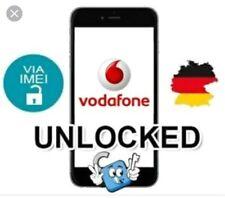 Liberar Unlock Vodafone Alemania German iPhone 3,4,5,6,7,8,X,XR,Xs,Xs Max plus