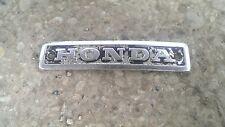 HONDA CX500 ENGINE BADGE