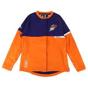 Phoenix Mercury WNBA Adidas Authentic On-Court Team Issued Warm Up Jacket Women