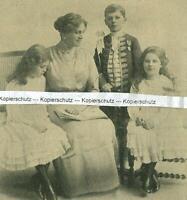 Lady Beatrice Pole Carew und die Kinder - Adel - London - um 1915     U 12-7