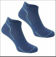 USA Pro Studio Sock Ladies 2 Pairs Anti Slip Sole Navy UK 4 - 8 EU 37-42 A363-16