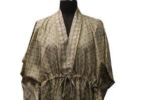 Pure Silk Kaftan Kaftaan Kaaftan Night Robe Long Gown Dress Tunic Woman KFN1020