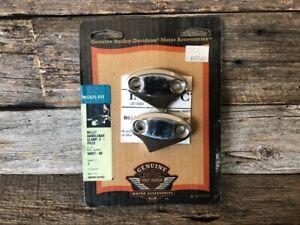 Harley Handlebar Riser 2 Piece Clamp Set - NOS - OEM - #56057-00 - Fits Most