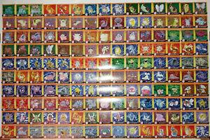150x Pokémon Artbox stickers - Series 1 - Complete regular set! - 1999 - Pokemon
