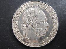 Österreich Ungarn, 1 Forint-Gulden, 1886 KB, Kremnitz, Silber, vzgl.-stgl.