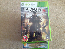 GEARS OF WAR 3 FOR THE XBOX 360