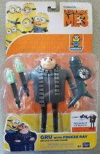 Despicable Me 3 Gru With Freeze Ray Deluxe Action Figure Thinkway Toys new 2017