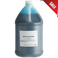 1 Gallon Commercial Restaurant Baking Blue Liquid Food Coloring Dye Bulk Kosher