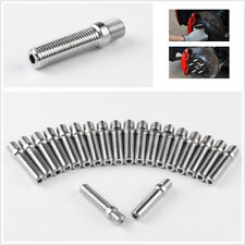 20PCS M12x1.25 To M12x1.5 58MM Extended Car Wheel Stud Conversion Tall Screw Kit