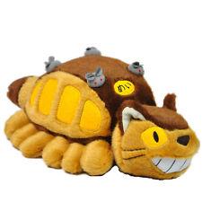 "New Studio Ghibli My Neighbor Totoro Cat Bus Plush Toy Stuffed Toy Pillow 12"""