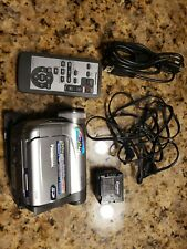 Panasonic PV-GS35 MiniDV Camcorder with 30x Optical Zoom playback
