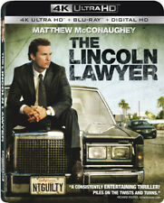 The Lincoln Lawyer [New 4K UHD Blu-ray] With Blu-Ray, 4K Mastering, Digitally