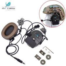 Z Tactical Comtac I Anti Noise MIC Headset Rail Adapter Earphone For FAST Helmet
