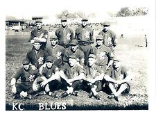 1922  KANSAS CITY BLUES 8X10 TEAM PHOTO  BASEBALL MISSURI USA