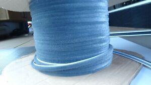 Bürstendichtung 6,7 x 6 mm Bürste grau Dichtung für Rolladen Führungsschienen