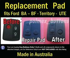 fits FORD Falcon BA BF UTE Remote key - Repair Silicone 3 key Buttons Pad