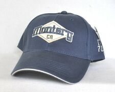 *MONTEREY BAY CALIFORNIA* Structured Ball cap hat embroidered *OURAY SPORTSWEAR*