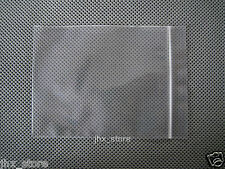 "100 Ziplock Pouches Plastic Zipper Bags 7.1"" x 10.2""_180 x 260mm"