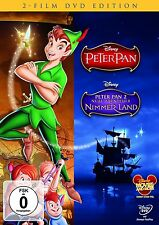PETER PAN  1 + 2  ++ 2 DVD Box Walt Disney Special Collection ++ NEU + OVP
