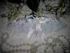 Beach Garter Wedding Supplies Bridal PALM TREE  WHITE
