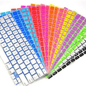 """For Apple Macbook Pro 13"""" 15"""" Retina Air 11"""" Silicone Keyboard Skin Cover Film ^"""