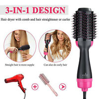 Electric Hot Air Round Brush Blow Dryer Negative Ion Hair Brush Dryer & Styler