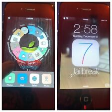 iOS 7 JAILBROKEN Apple iPhone 4 16gb ROGERS CANADA A1332 MIRROR RED Untethered!!