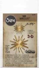 New listing Sizzix 3D Impresslits Embossing Folder By Tim Holtz Radiant 630454255178