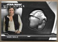 2019 Star Wars Masterwork Han Solo 1/5 Blast Shield Slight Back Corner Damage