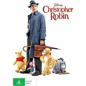 Christopher Robin (DVD, 2018) Ewan McGregor, Hayley Atwell, Brad Garrett
