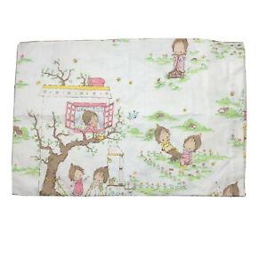 Betsey Clarke Vintage Cot Toddler Pillow Case 1975 EUC 40cm X 59cm