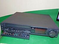 PANASONIC NV-F75 Video Cassette Recorder VHS VCR BLACK Tape Top End Working