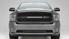 2013-2016 DODGE RAM 1500 ZROADZ SERIES BLACK GRILLE GRILL W/LED LIGHT BAR T-REX