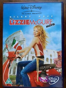 The Lizzy McGuire Movie DVD 2003 Walt Disney Hilary Duff Teen movie Musical