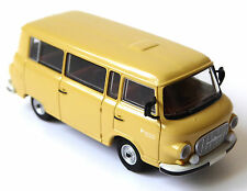 H0 BREKINA Barkas B 1000 KB Kleinbus Bus Kleintransporter Farbe sand DDR # 30002