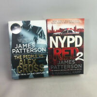 2 James Patterson Paperback Books The People VS. Alex Cross & NYPD RED 2