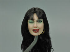 "1/6th Head Sculpt Female Girl TBLeague SHCC 2017 Vampirella B For 12"" Action"