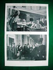 Nel 1920 Roma, visita sovrani di Danimarca Re Cristiano X Re Vittorio