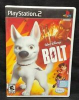 Disney Bolt - PS2 Playstation 2 Game Tested Working Complete