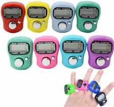 5 x Digital Finger Ring Tally Counter Hand Row counter Tasbeeh Cheapest Uk Post