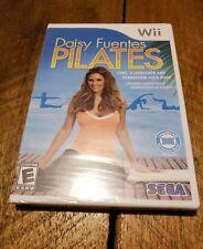 Daisy Fuentes Pilates (Nintendo Wii, 2009) Tone,Strengthen, Transform/Mfg. Seal