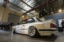 FRP ROCKET BUNNY PANDEM STYLE REAR OVER FENDER +70MM FOR 84-91 E30 2D COUPE
