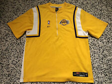 00-01 Nike Authentic Los Angeles Lakers Warm Up Shooting Shirt Jersey sz XL