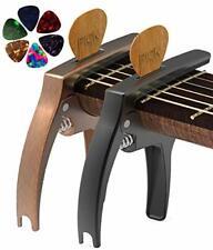 Guitar Capo For Acoustic And Electric Guitars 2 Black & Brozne Ukulele Guitar