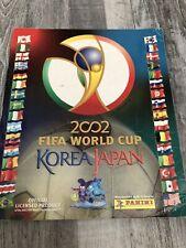 Panini WM 2002 Fast KOMPLETT Album 40 Sticker Fehlen