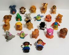 Fisher Price Little People Zoo Animals and Peoples Lot of 23 Different Figures
