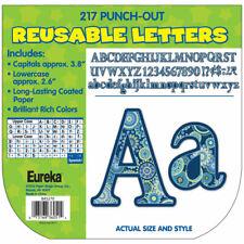Blue Harmony Circle Letters Deco Letters Eureka Eu-845270