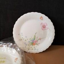 "(4) Mikasa Something Blue  7 1/2""  Salad Plates  (Pattern A7051)"